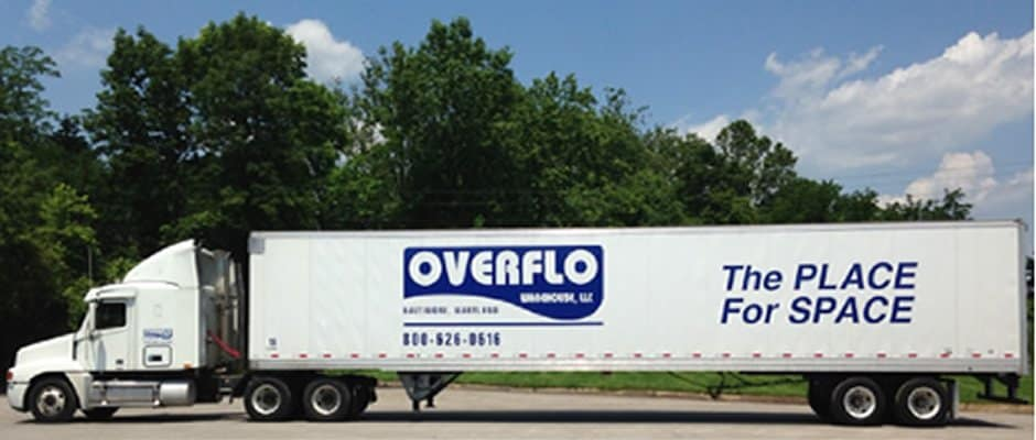 distribution truck